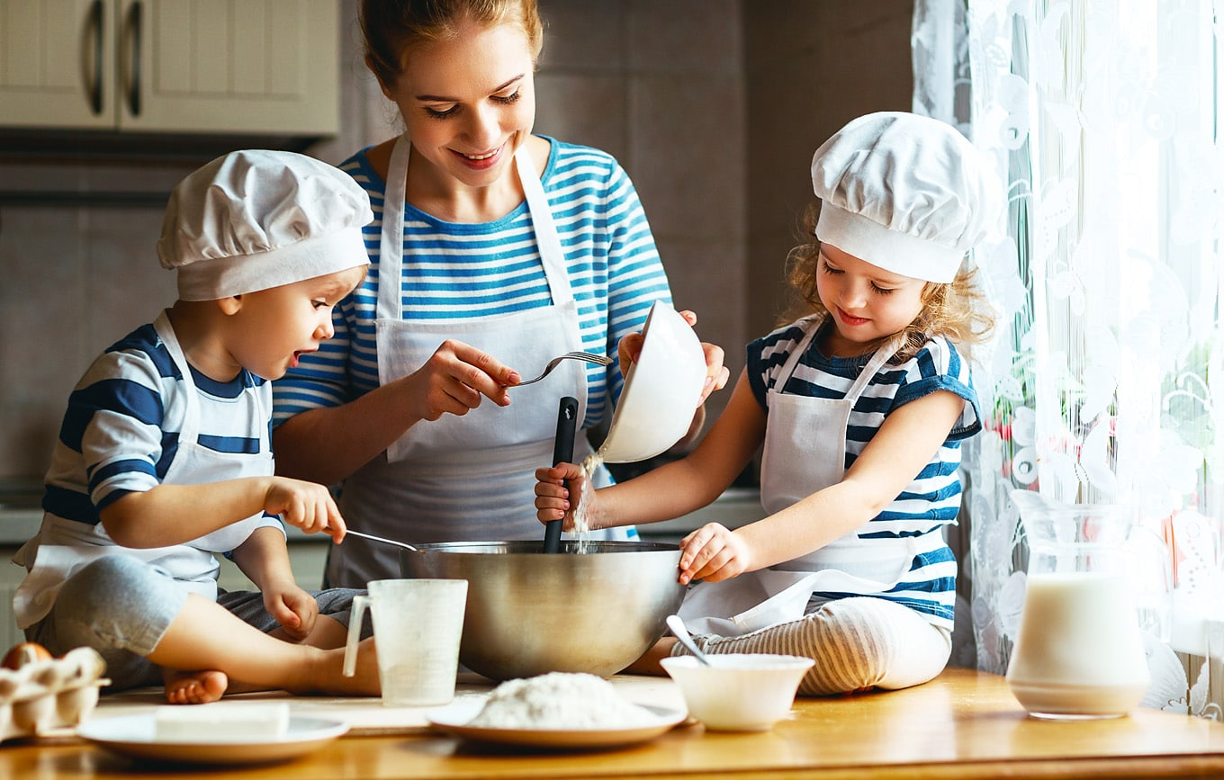 The Benefits of Cooking with Kids Outweigh the Challenges