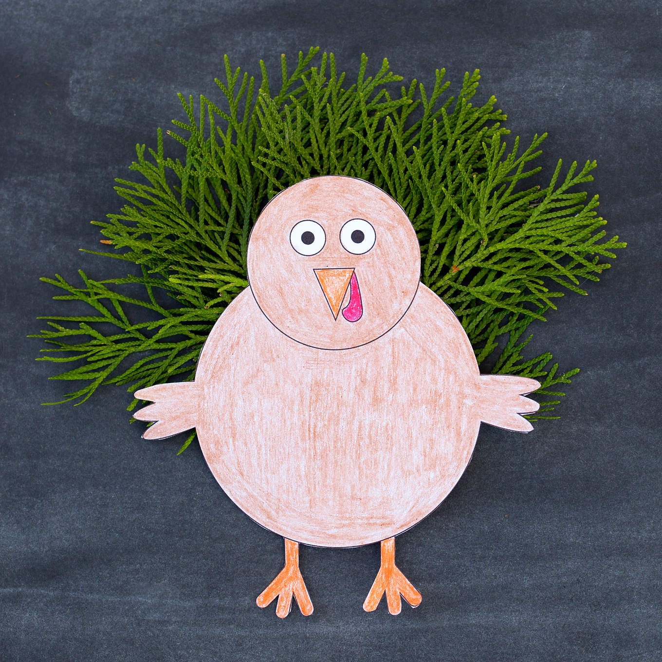 Easy and Fun Thanksgiving Turkey Craft for Kids