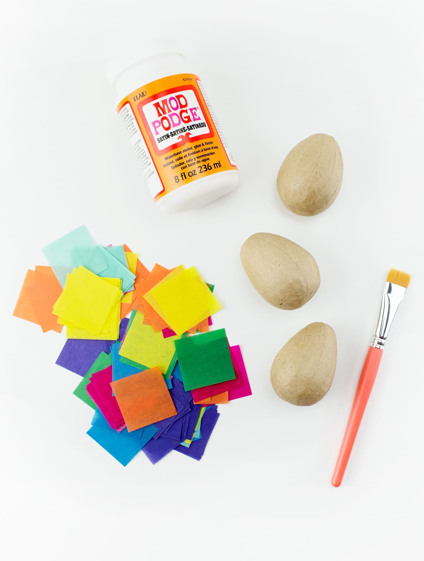 Easy and Fun Tissue Paper Eggs