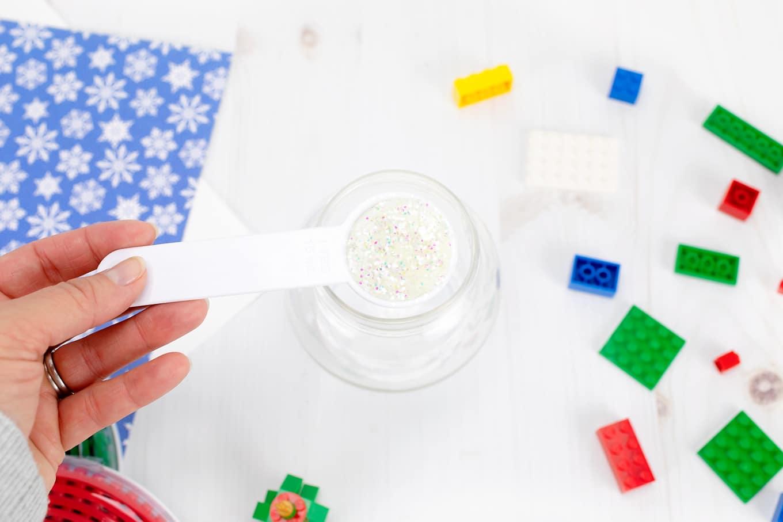 White Glitter