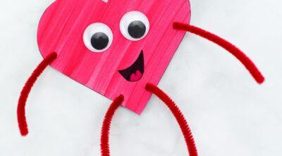 Heart Buddies Craft for Kids