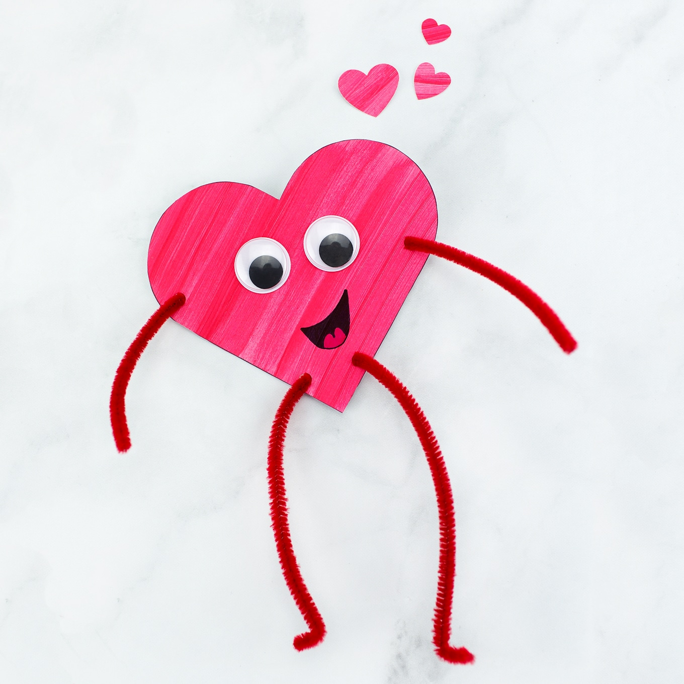 Heart Bud S Easy Valentine S Day Craft For Kids