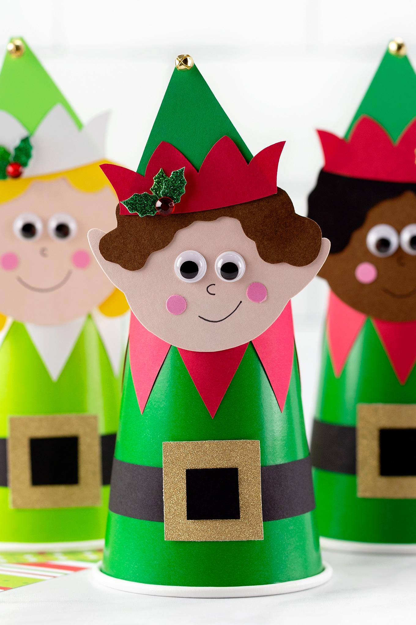 How to Make a Paper Cup Elf