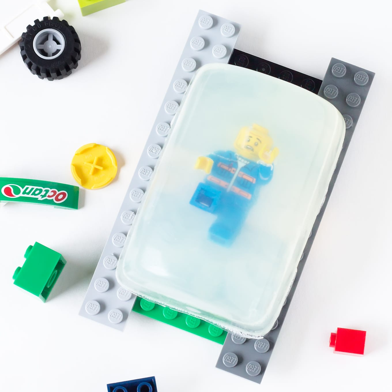 LEGO Rescue Soap with LEGO Soap Holder