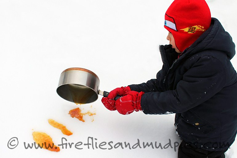 Pure Maple Candy at Home | Fireflies and Mud Pies