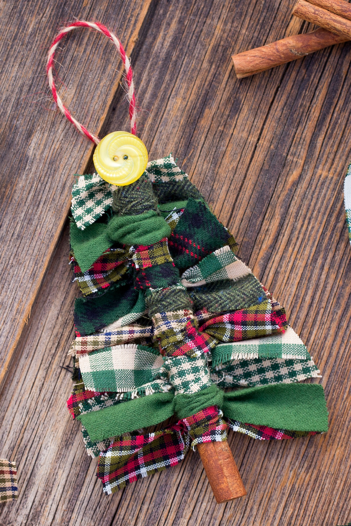 Learn how to Make Fabric Tree Ornaments for Christmas