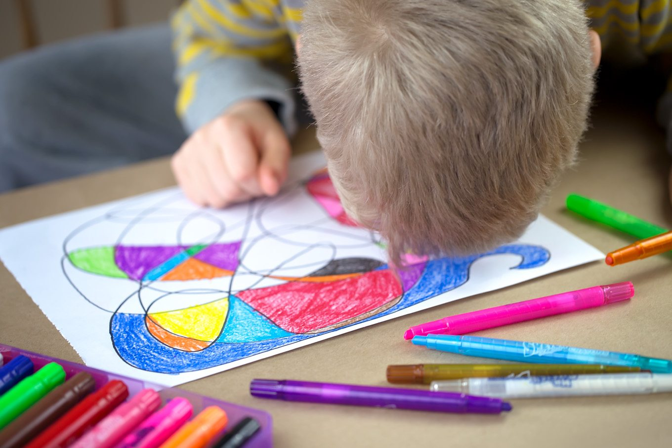 My kids' sketchbooks are full of Scribble Art! It's their go-to kind of drawing for relaxation, keeping themselves busy on road trips, and being creative.