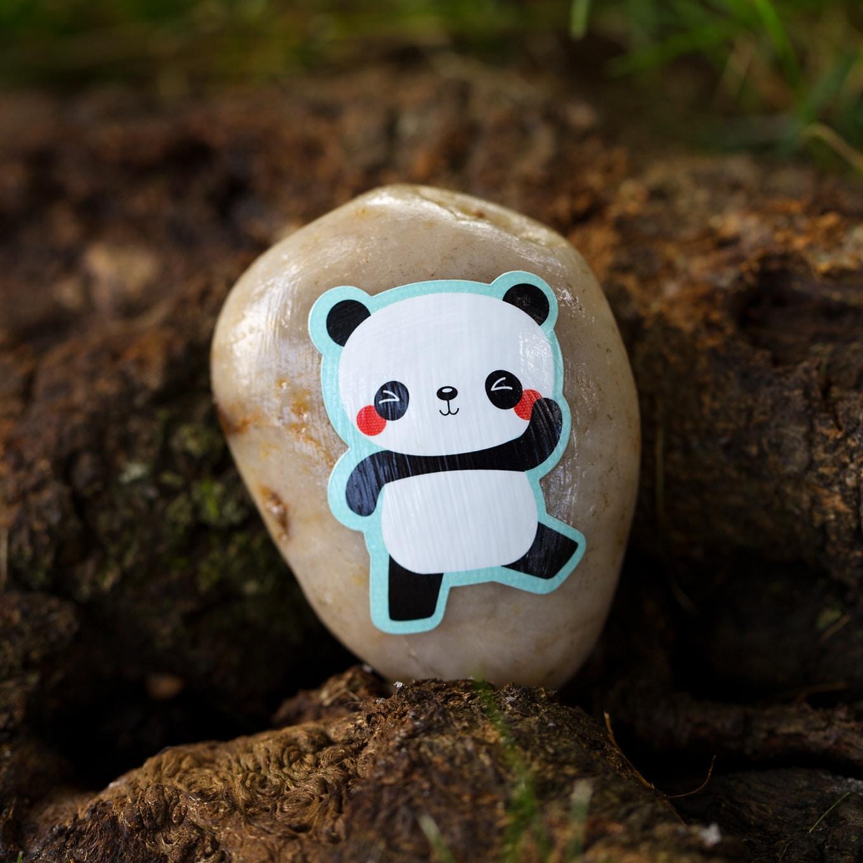 Silly Sticker Rocks