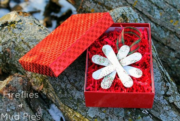 Snowflake Ornament Craft for Kids