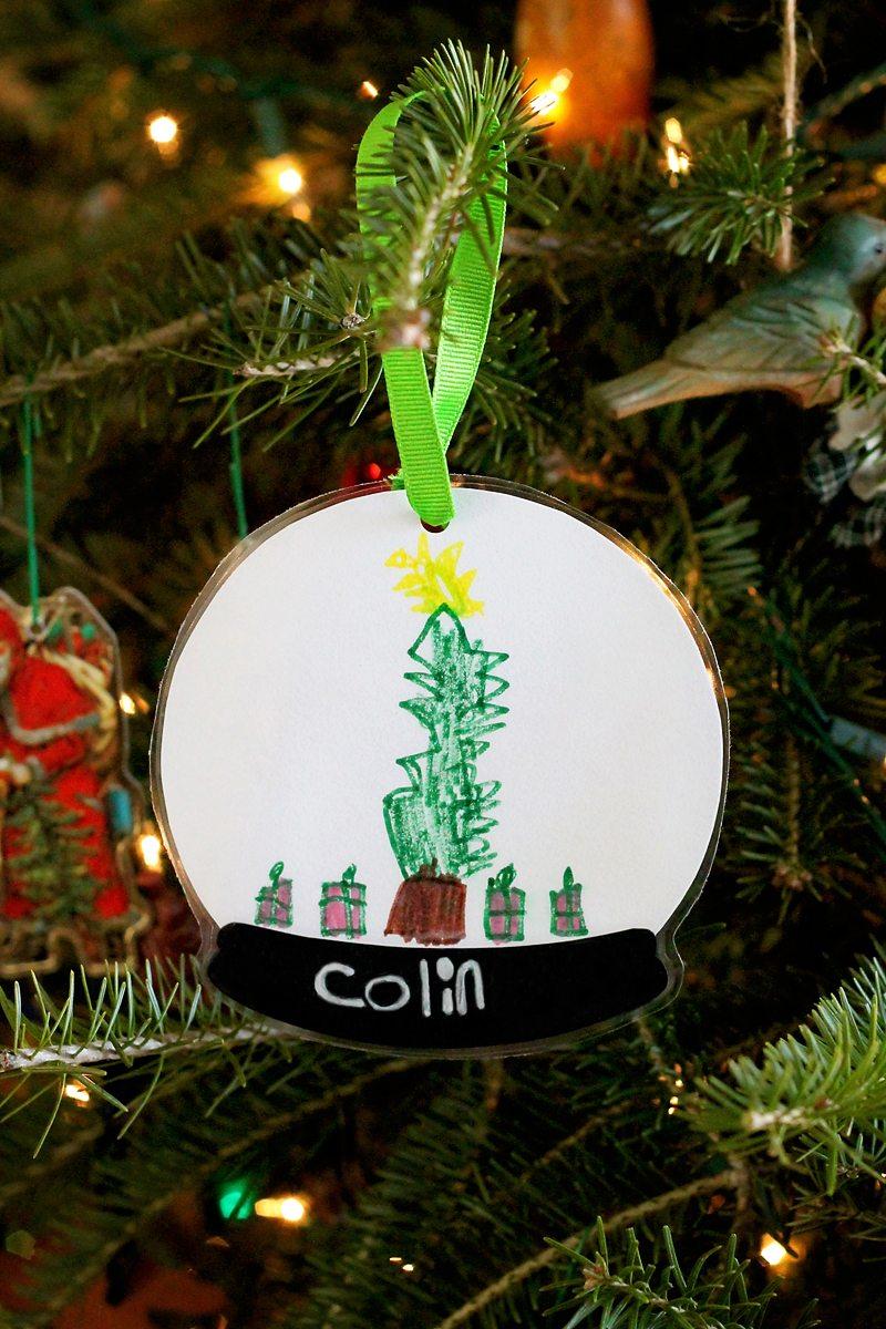 Snow Globe Keepsake Ornament