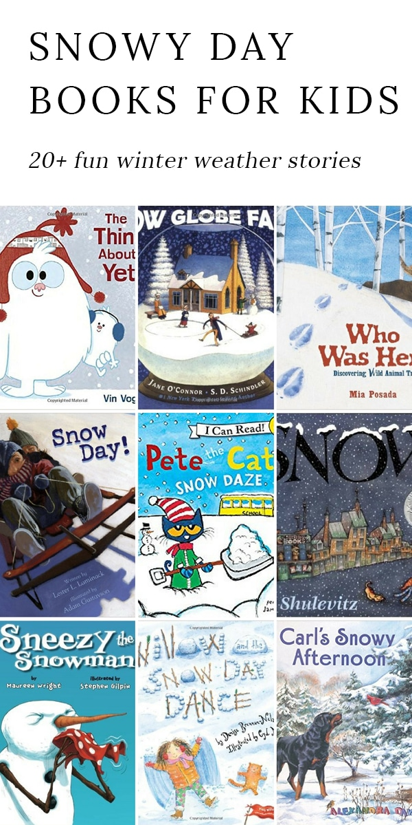 Winter is the perfect season for snuggling up with a mug of cocoa, a warm blanket, and a good story. Shared below are our favorite Snow Books for Kids, perfect for celebrating snowflakes, snow days, and snowballs. via @firefliesandmudpies
