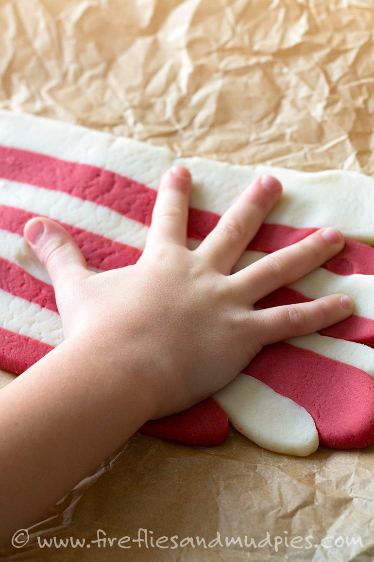 Soft Candy Cane Playdough | Fireflies and Mud Pies