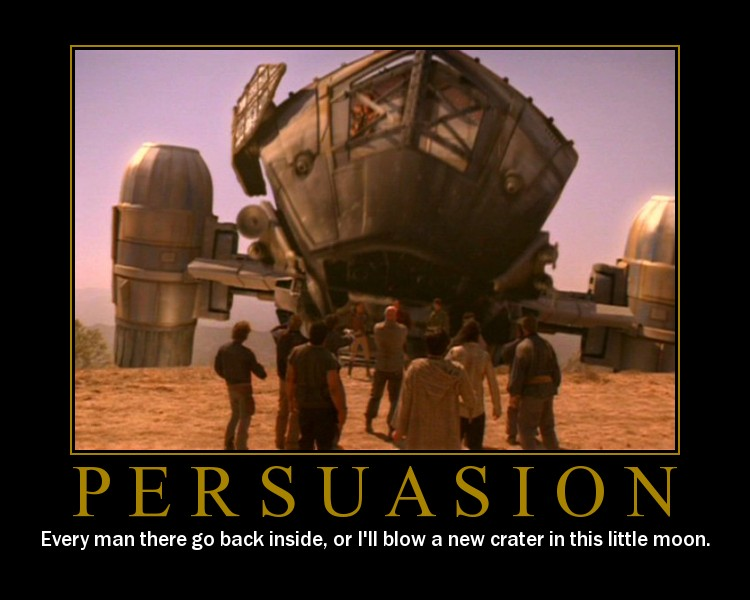 Persuasion Motivator By Manicgiraffe