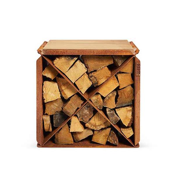 RB73 BloX seat - wood storage