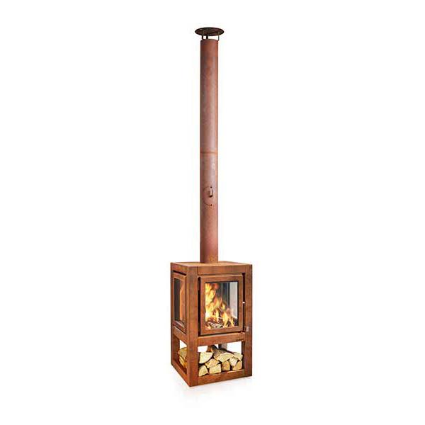 RB73 Quaruba XL mobile Outdoor Heater