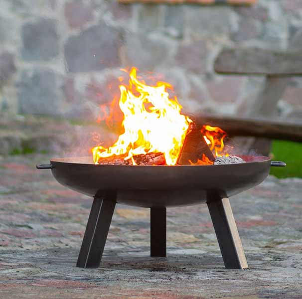 Cook King Fire Bowl Polo shown in Black