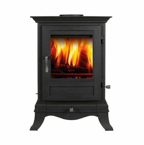 Chesney's Beaumont 6 multi-fuel in Black