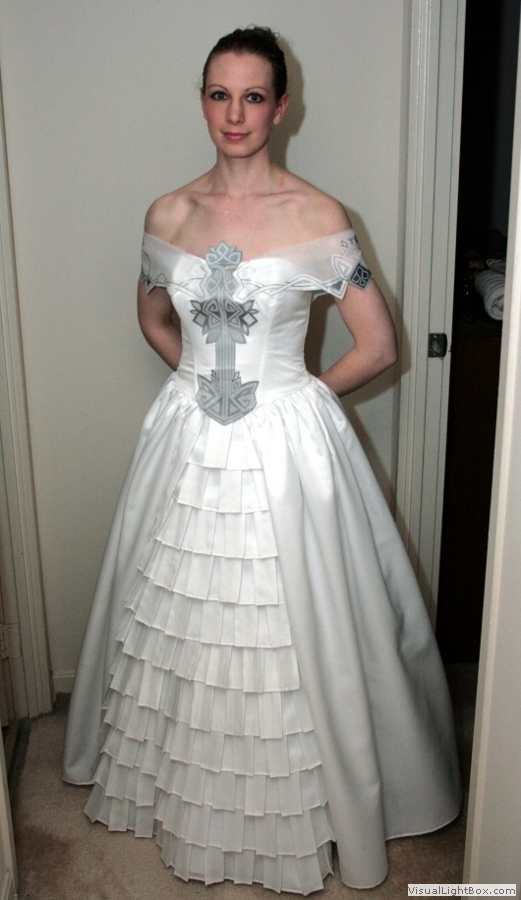 Lenneths Wedding Dress From Valkyrie Profile The Home