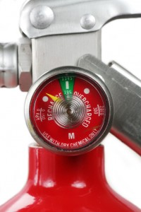 Replace or Recharge your fire extinguisher