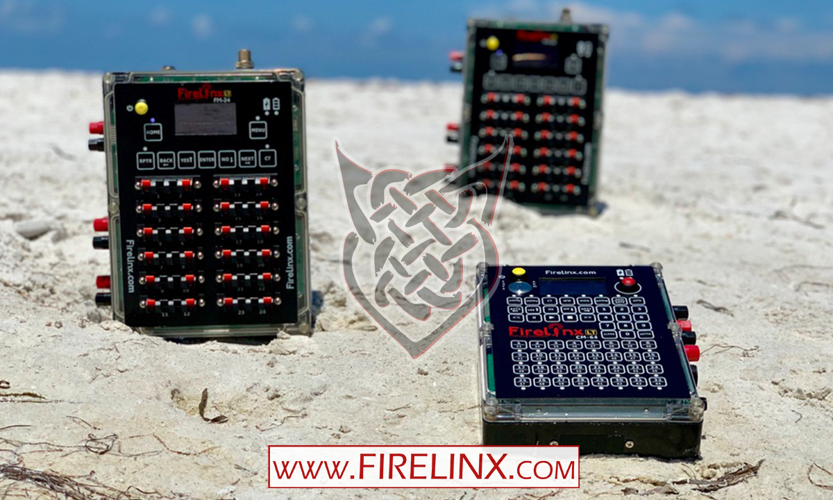 Firing Modules and a Command Module - Firelinx