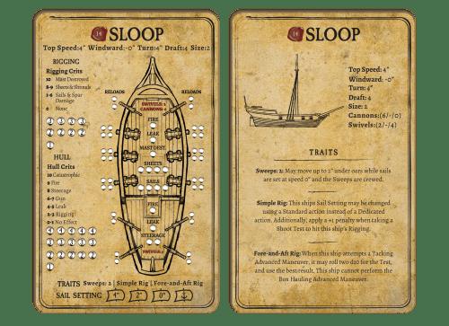 Sloop Card