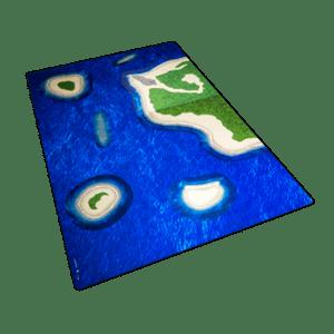 Ocean Mat with Islands Set