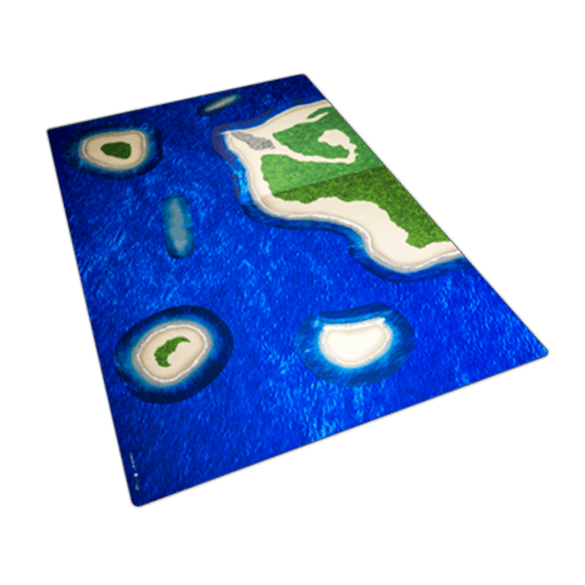 Ocean Mat with Islands Set