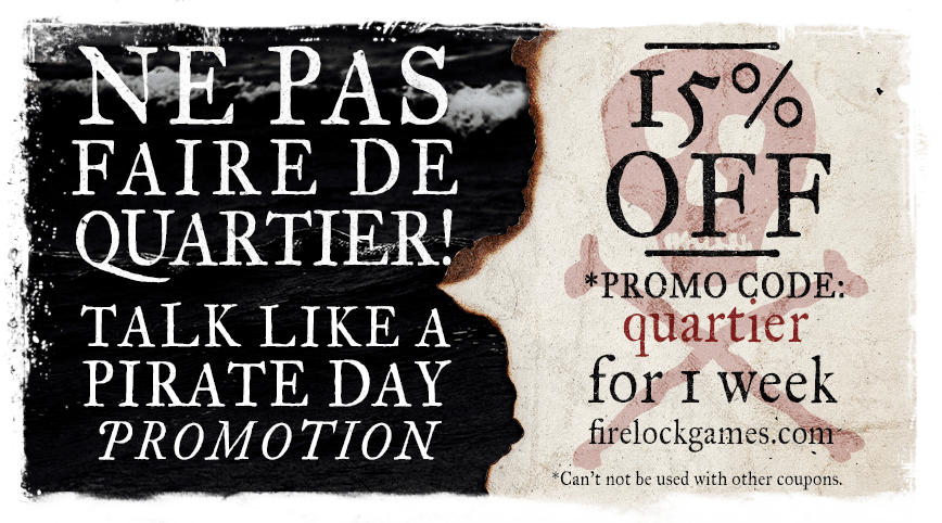 Talk Like a Pirate Day: NE PAS FAIRE DE QUARTIER!