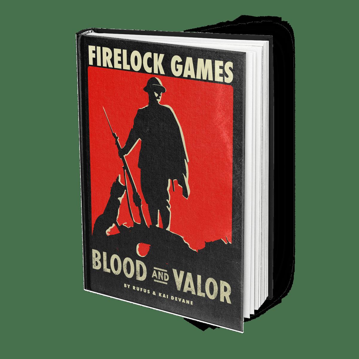 Blood & Valor Book