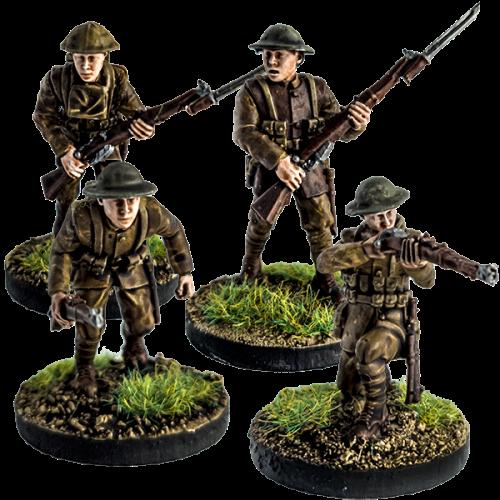 British Riflemen Set A
