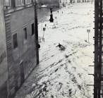 Foto dell'alluvione di Firenze 1966