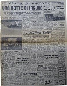 La Nazione 4 novembre 1966