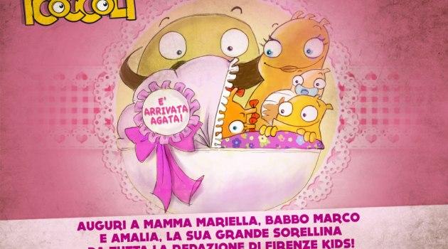 Fiocco rosa a Firenze Kids