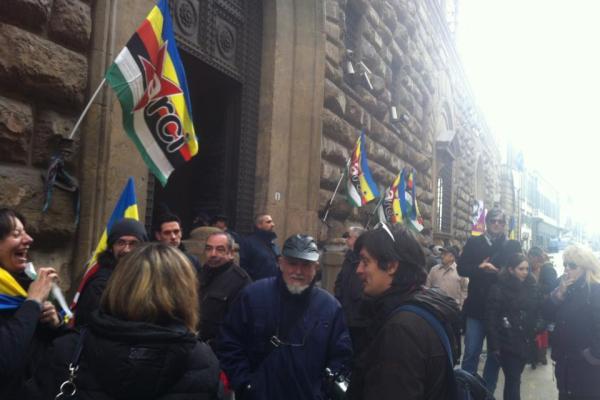 Imu, la protesta dei circoli Arci (Foto Arci Firenze)