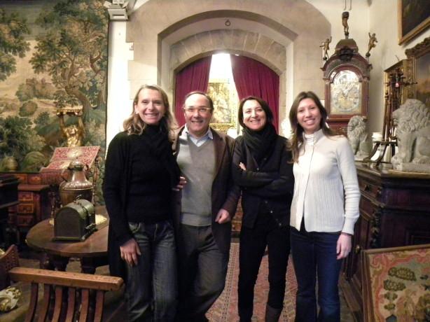 Associazione via Maggio, da sinistra Olivia Turchi, Vincenzo Fiorini, Eleonora Botticelli e Francesca Roberti