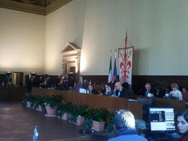 Il consiglio comunale di Firenze