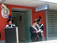 La nuova caserma dei Carabinieri di Sesto Fiorentino il giorno dell'inaugurazione