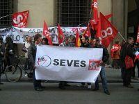 Una delle tante manifestazioni a sostegno della Seves