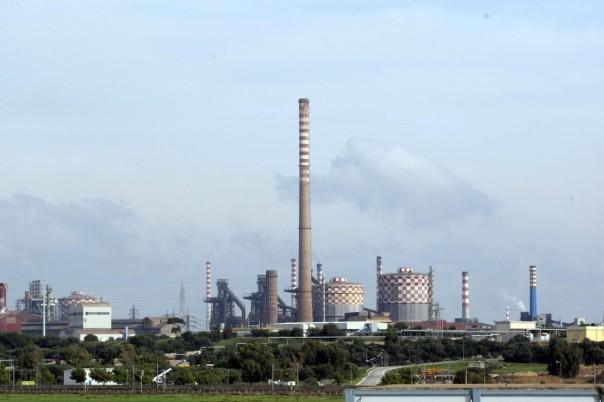 Lo stabilimento Ilva a Taranto