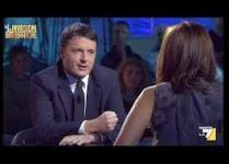 Matteo Renzi - Intervistato alle Invasioni Barbariche