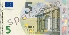 La nuova banconota da 5 euro