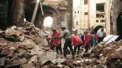 L'attentato di mafia in via dei Georgofli a Firenze il 27 maggio '93