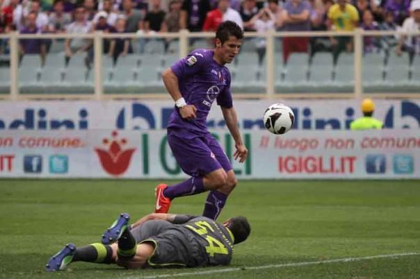 Per Jovetic quella di domenica a Pescara potrebbe essere l'ulitima in maglia viola