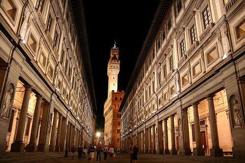 Galleria degli Uffizi e altri musei aperti di notte