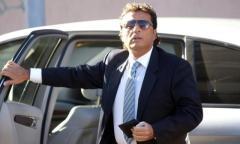 L'ex comandante Francesco Schettino al processo di Grosseto
