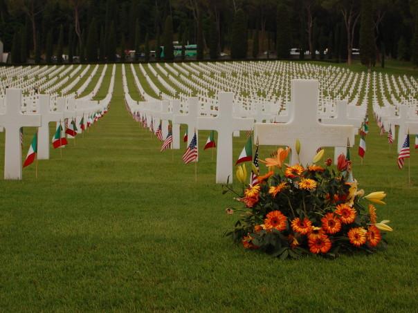 Il Memorial Day ricordato al cimitero americano dei Falciani (Foto Springbok)