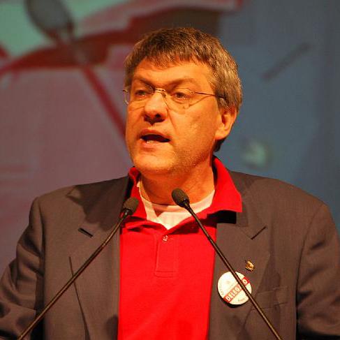 Il segretario Fiom Maurizio Landini