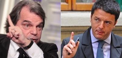 Renato Brunetta e Matteo Renzi