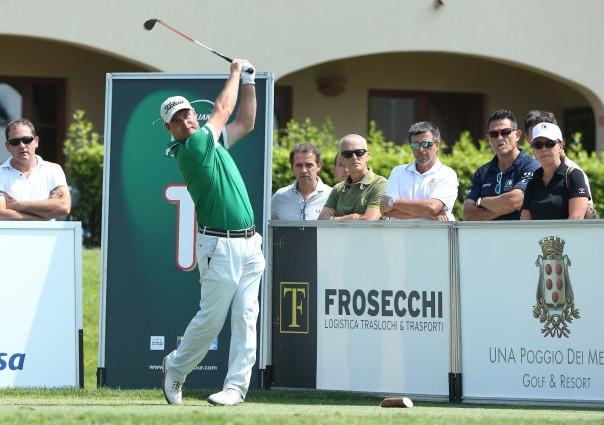 Marco Crespi al Tuscany Open del Mugello (foto Claudio Scaccini via Federgolf)