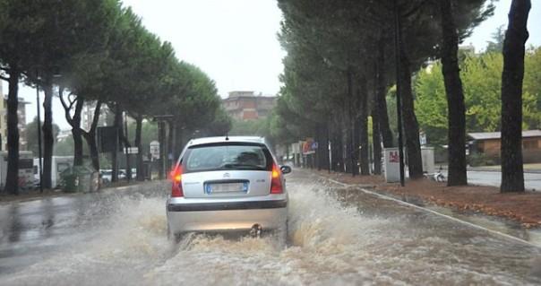 Allagamenti ad Arezzo